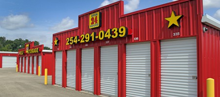 Storage Units in Belton, TX | Big Red Barn Self Storage